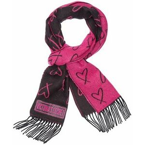 Victoria's Secret Heart Print Scarf